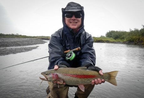 Alaska Trout Fishing in August