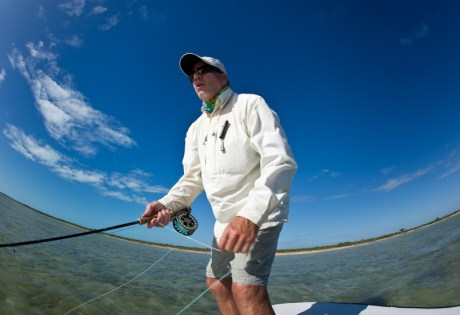Bonefish Angler by Louis Cahill Photography