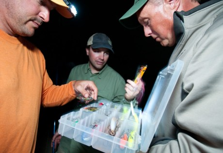 Selecting Lures by Louis Cahill Photography