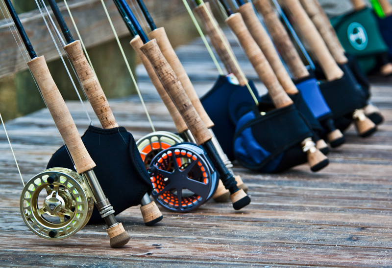 free loaner saltwater fishing gear at andros south, Fishing Reels