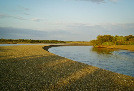 Kanektok River Gravel Bar