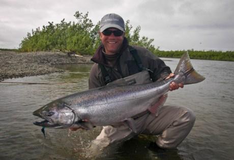 King Salmon Spey Caught Alaska