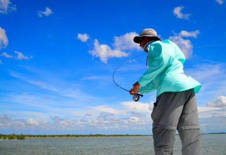 Bonefishing in the Wind