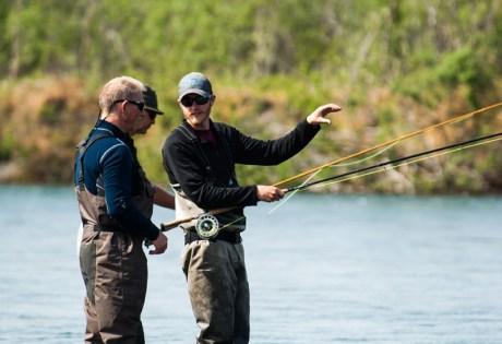 Spey Instruction at Alaska West