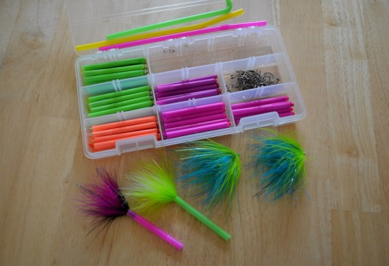 Tube Flies and Drinking Straws
