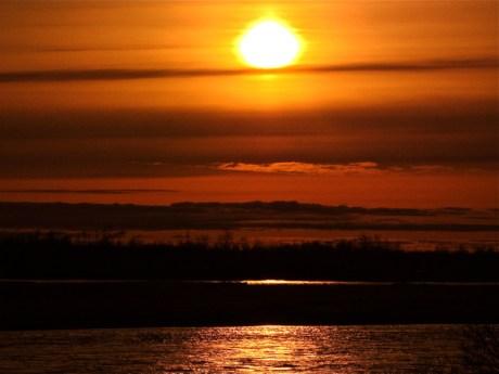 Kanektok Sunset