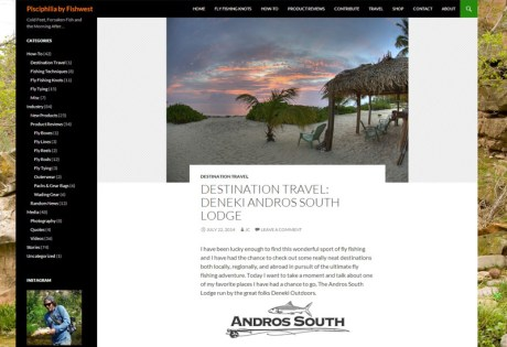 Fishwest report on Andros South