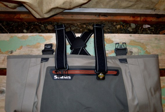 Opposing Wader Strap Buckles