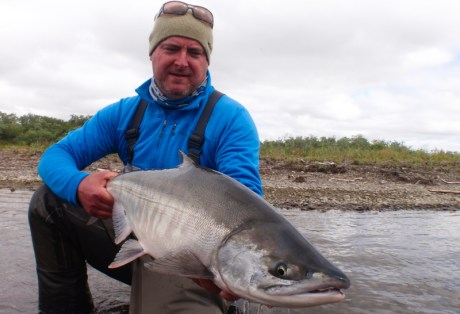 Stuart Foxall at Alaska West
