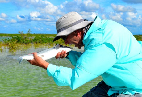 Chad with an early season South Andros Bonefish