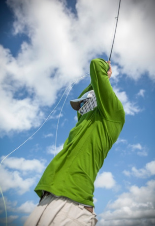 Fly fishing at Andros South