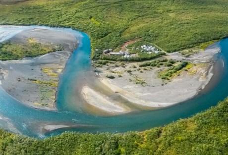 Alaska West Aerial Photo