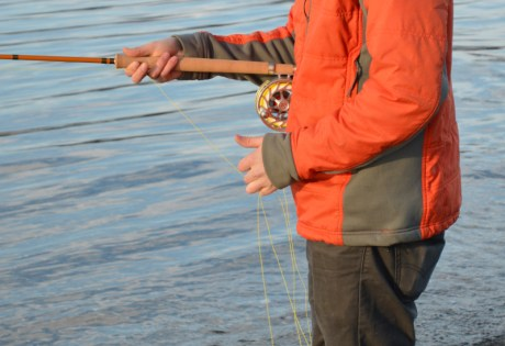 Managing Running Line While Spey Fishing
