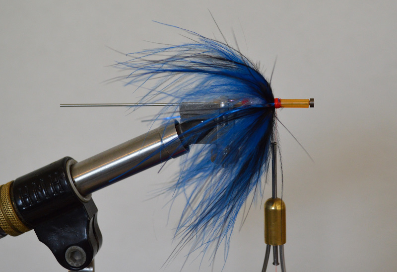 How to tie a reverse marabou tube fly for steelhead