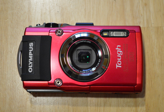 Why we like the Olympus TG-3 point and shoot camera for fishing