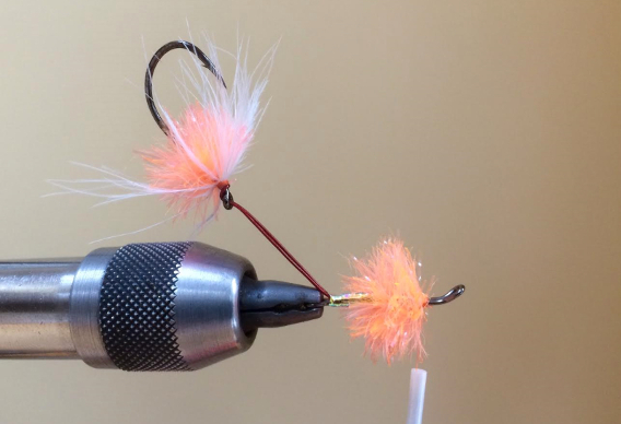 Stu's Egg Intruder fly for steelhead, trout, and dolly varden