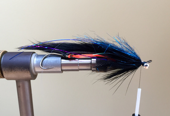 How to tie the Miles Davis Leech Steelhead Fly.