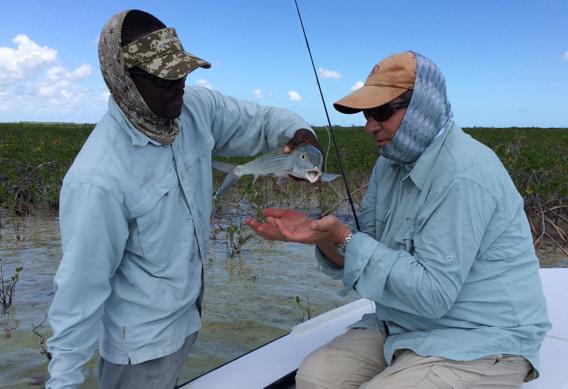 Handling Bonefish.