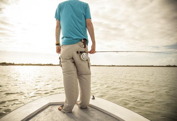Flats fishing for bonefish.