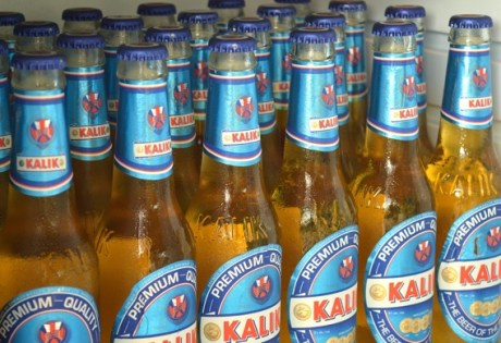 Kalik, The Beer of the Bahamas.