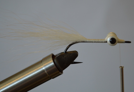 How to tie the Deep Clouser Minnow Fly Pattern.
