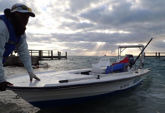 Andros South Flats Boats.