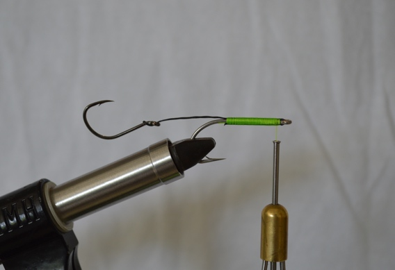 Fireline braid for stinger loops on steelhead and salmon loops.