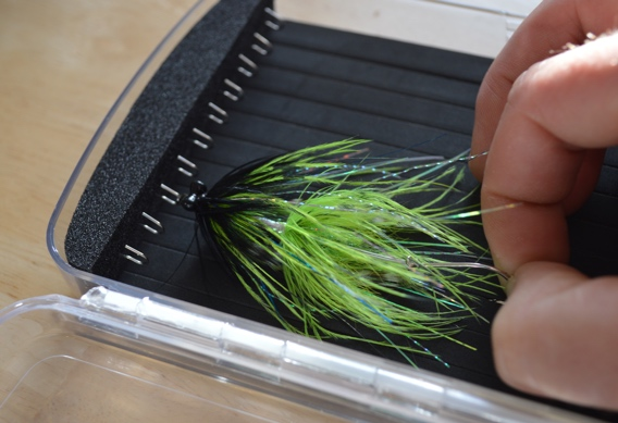 Plan D Articulated Fly Box for Articulated Flies.