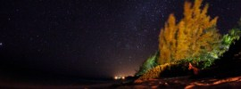 South Andros sky at night