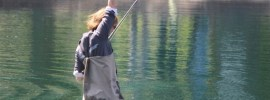 Whitney Gould's world record spey cast