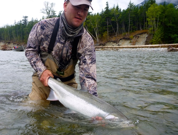 Dean river steelhead by steven brutger