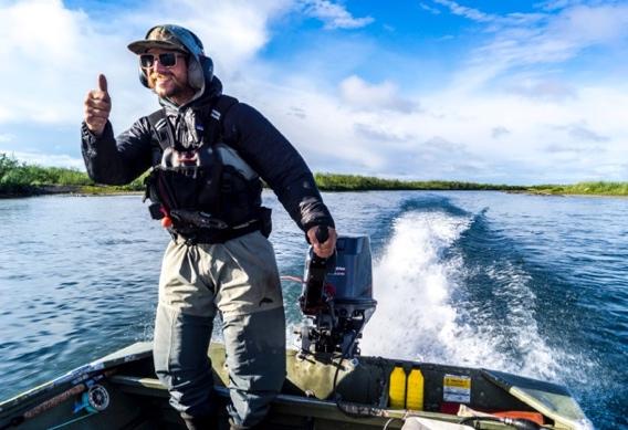 Ryan Gossett at Alaska West by Greg Houska