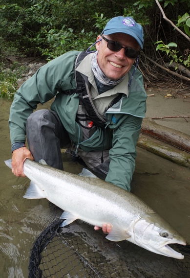 Big steelhead from BC West