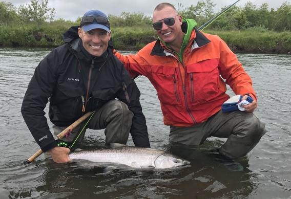 Chrome bright king salmon