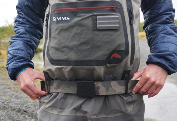 Simms Cam Wading Belt review