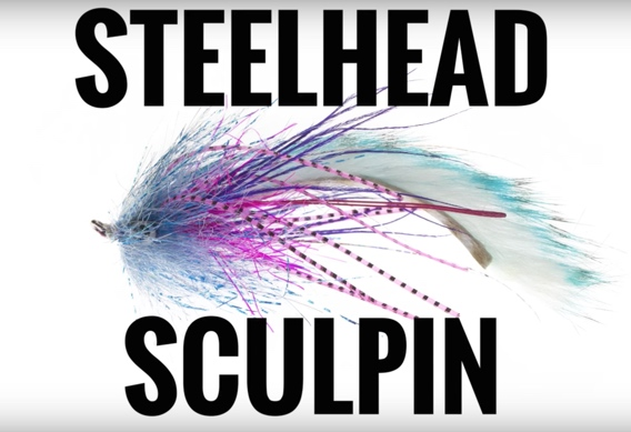 Jerry French's Steelhead Sculpin fly pattern