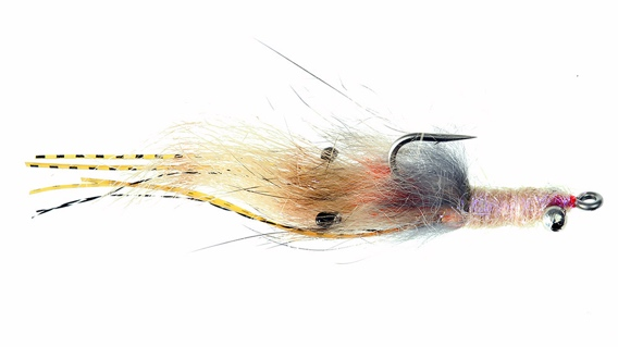 Shea's bonefish buttah fly pattern