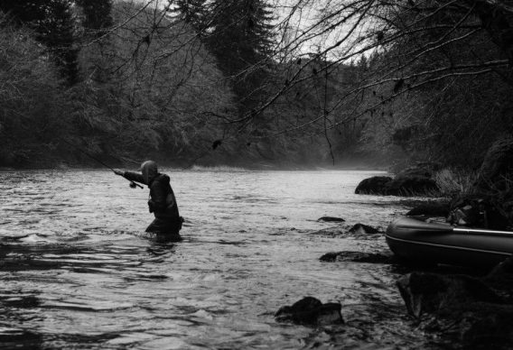 Mending for steelhead