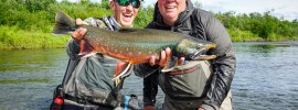 Big dolly varden from Alaska West