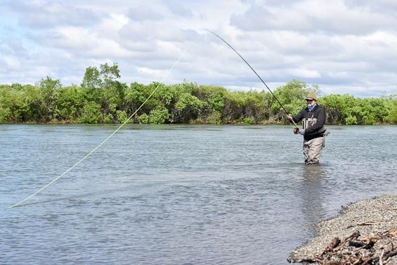 spey fishing- stuart foxall on adjusting overhang