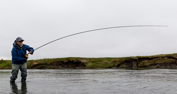 when to set the hook when swinging flies