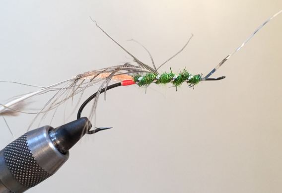 How to tie the lady caroline steelhead fly with modern materials-9