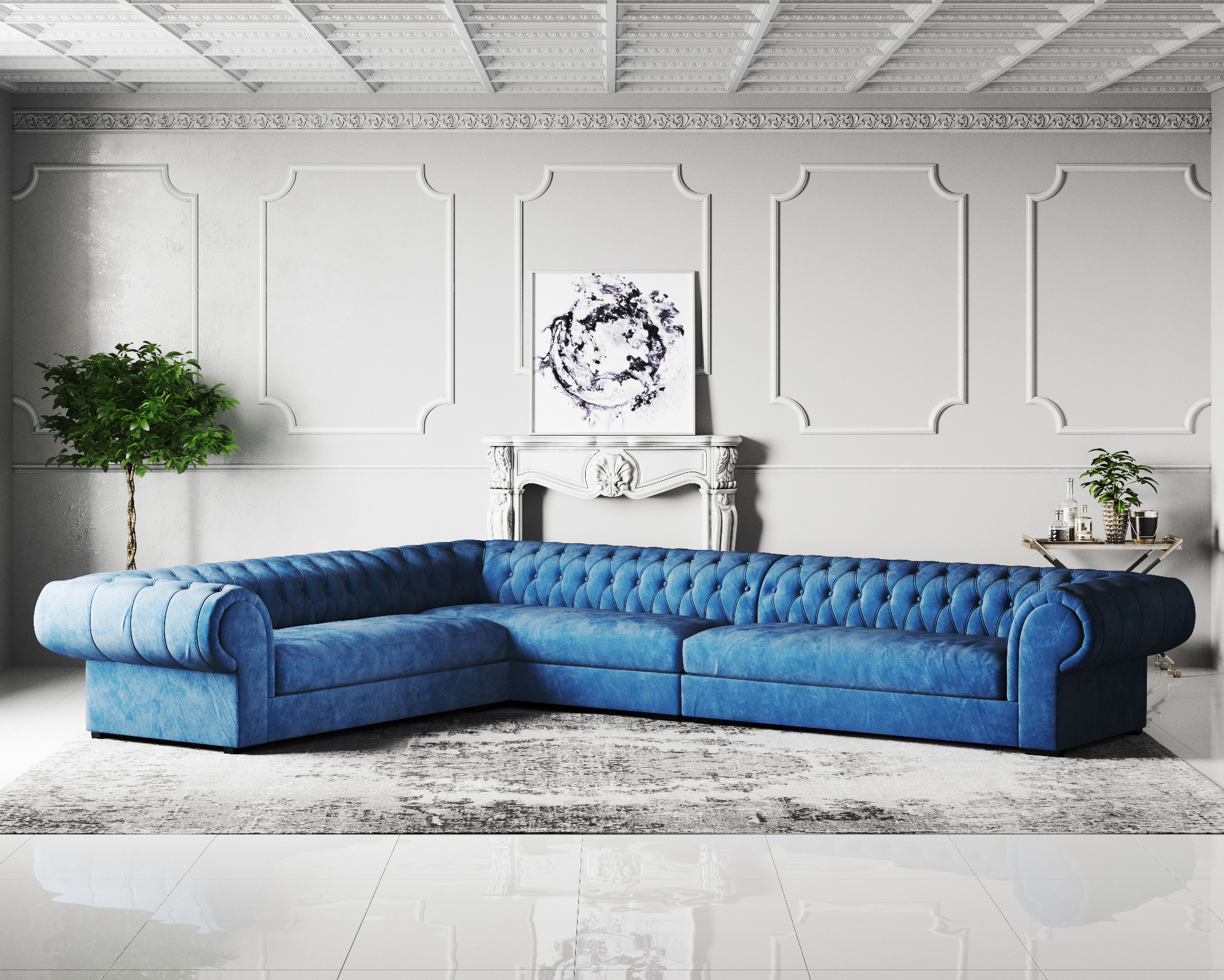 to buy sofa in london wooden set under 20000 contempo chesterfield fabric corner online