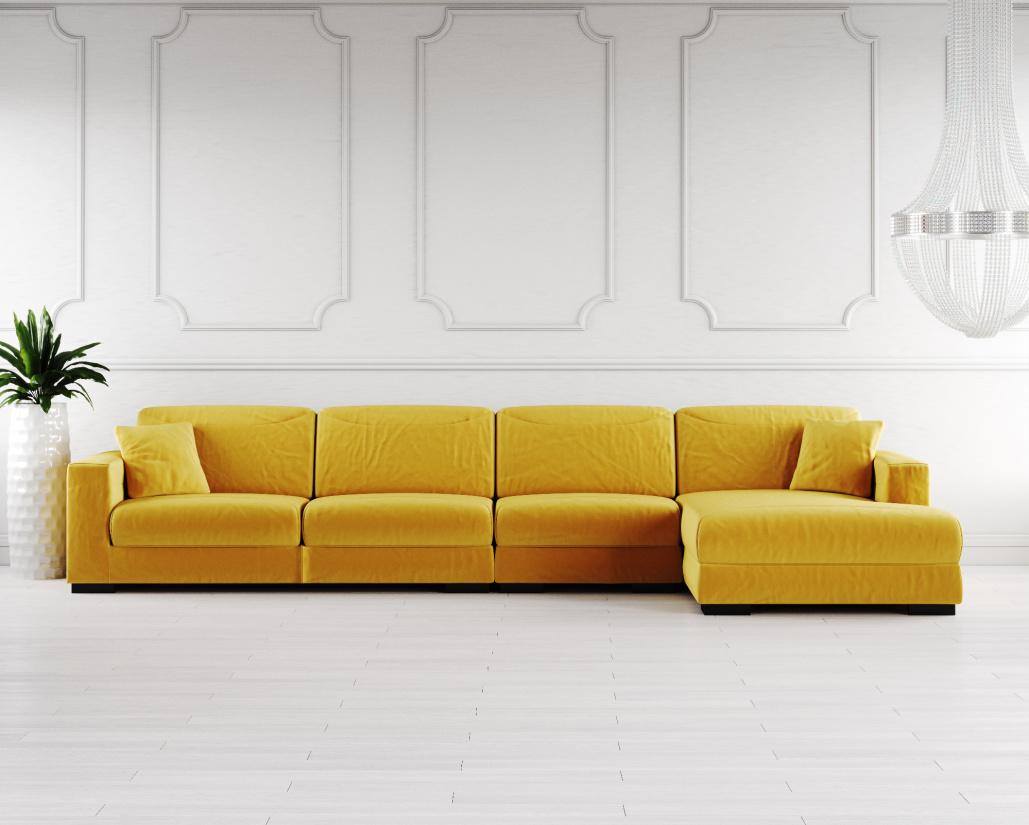 Buy Lexus Fabric Corner Sofa Online in London, UK