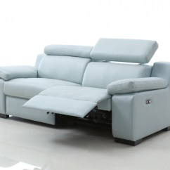 Electric Recliner Leather Sofas Uk How To Wash Dry Clean Only Sofa Covers Buy Marlon With Power Headrests Italian
