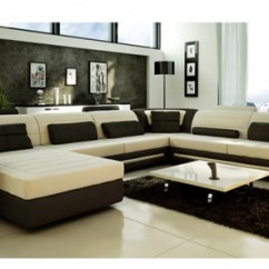 Large Corner Sofa In Small Living Room Canvas Wall Art Modern Chaise Sale Uk Contemporary Luxury Italian Granada Leather