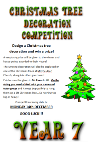 Christmas Decoration Competition | Decoration For Home
