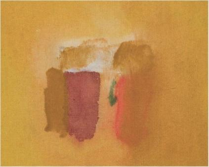 Helen Frankenthaler - Painted Cover 1971