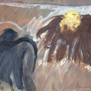 Robert Beauchamp Untitled Two Eagles image