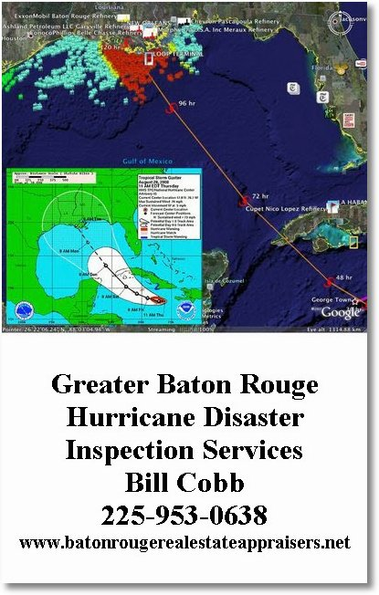 greater baton rouge hurricane disaster inspection services bill cobb 225 953 0638